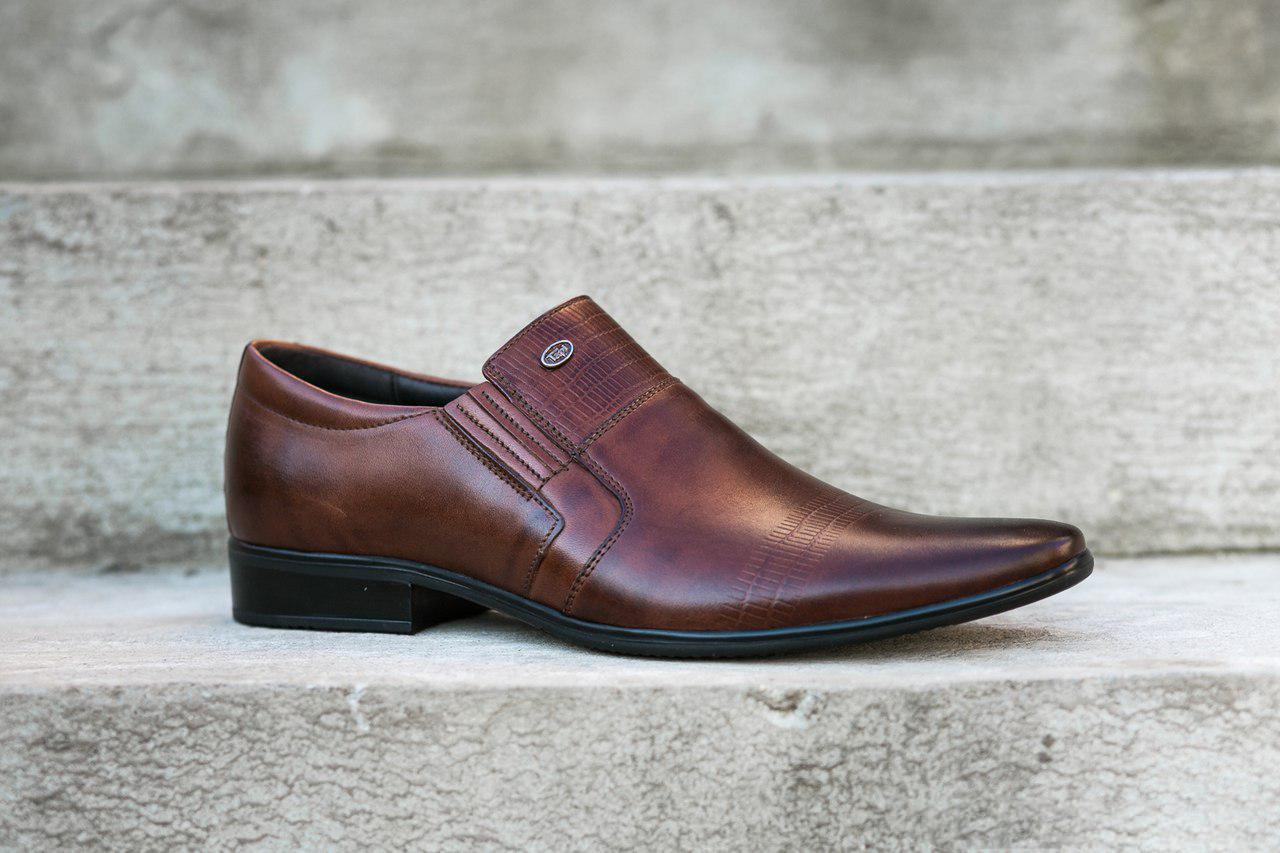 Остання пара - 45 розмір! Туфлі Tapi взуття надійних чоловіків