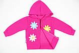 Утепленный костюм 2-ка малиновым цветом для девочки, фото 3
