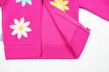 Утепленный костюм 2-ка малиновым цветом для девочки, фото 4