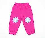 Утепленный костюм 2-ка малиновым цветом для девочки, фото 6