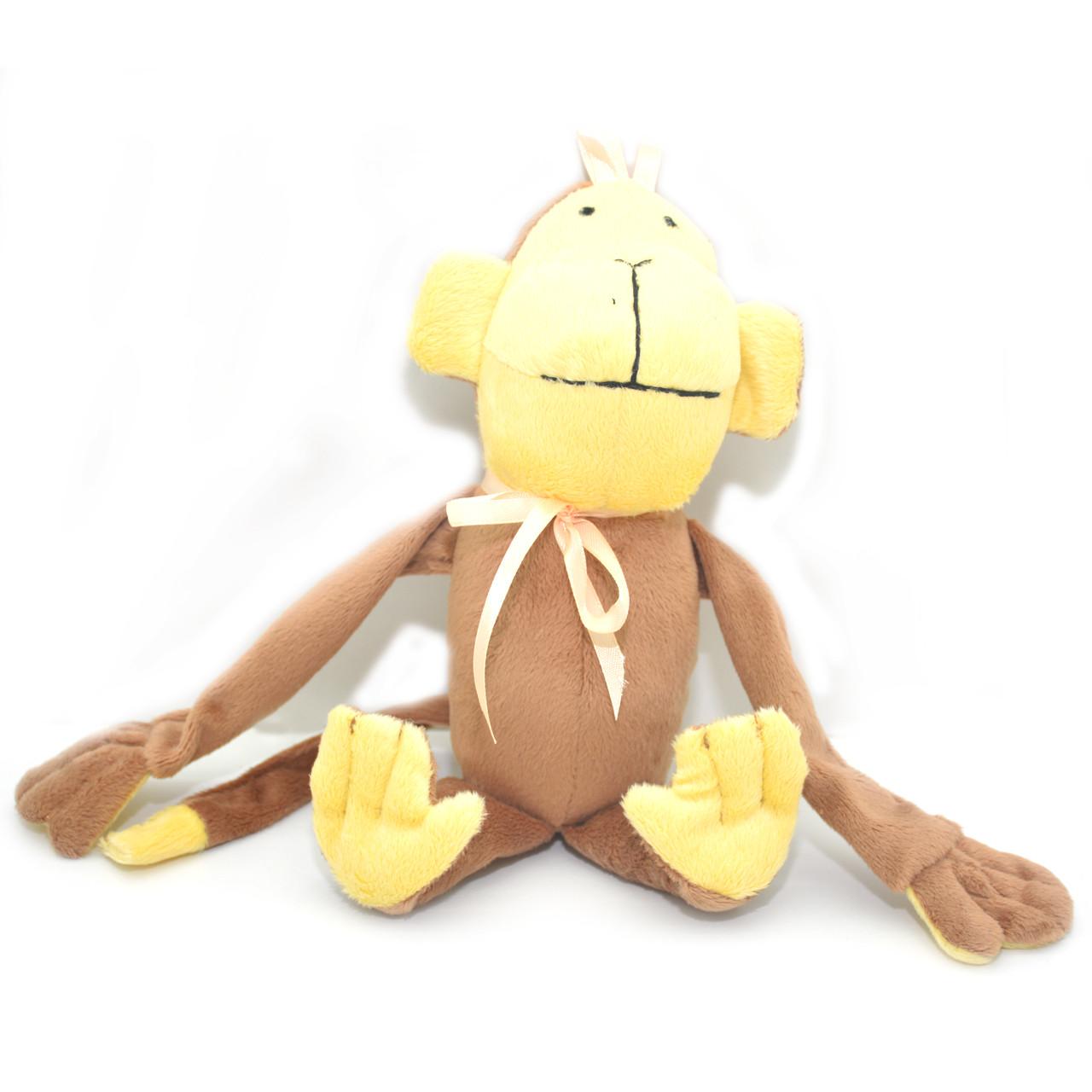 Мягкая игрушка для собак ОБЕЗЬЯНКА коричневая