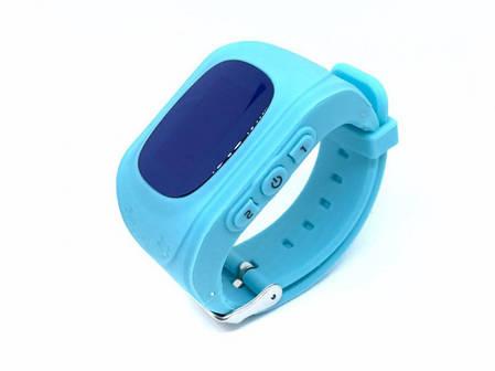 Детские смарт-часы Q50 с GPS Голубые , фото 2