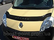 Дефлектор капоту (мухобійка) Renault Kangoo 2 (рено кенго 2 2008р+)