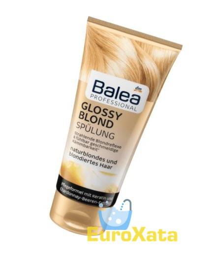 Профессиональный бальзам BALEA Professional Glossy Blond 200мл (Германия)