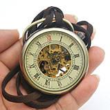 Часы карманные механические на шнурке, фото 3