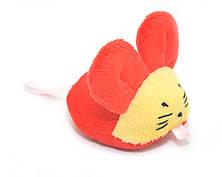 Мягкая игрушка для котов и собак Мышка плюш, фото 3