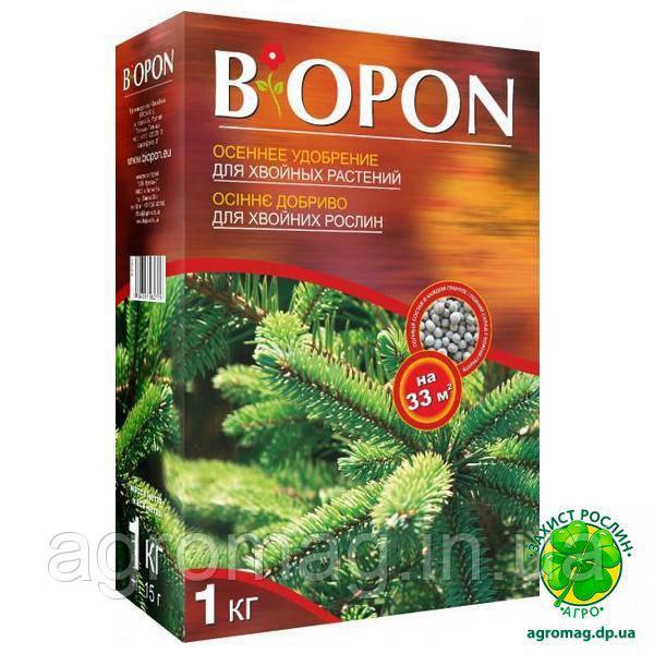 Biopon осеннее для хвойных растений 1кг