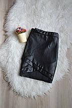 Асимметричная юбка под кожу pretty little thing, фото 3