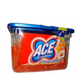 Ace с запахом Мимозы и Ромашки Универсальные капсулы для стирки 20 шт