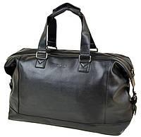 5c616138 Мужская дорожная сумка искусственной кожи 35 л. dr.Bond 8710 black черный