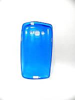Накладка LG L60/X145 ''Силикон'' синяя, фото 2