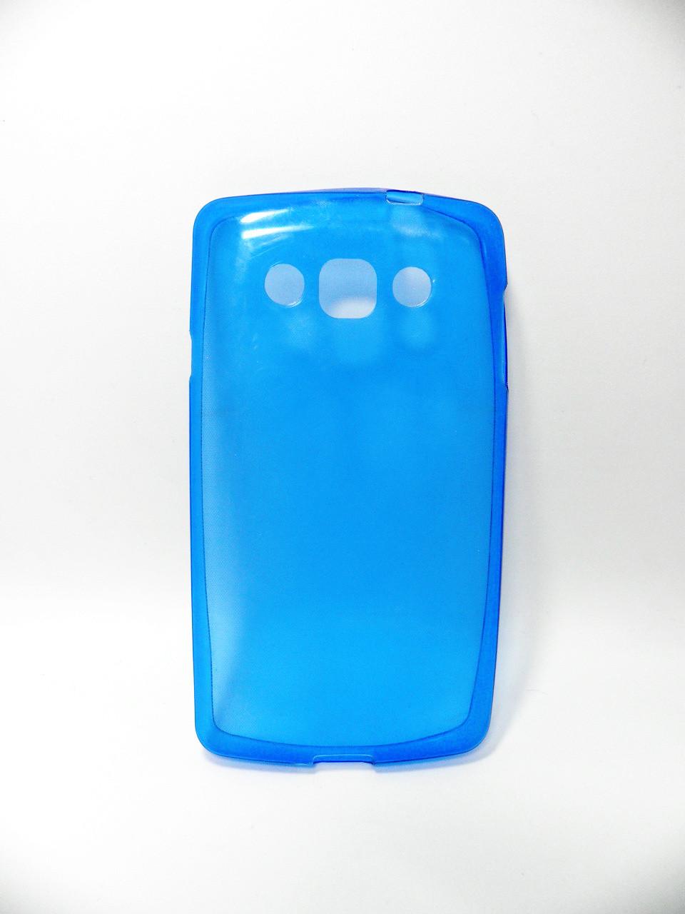 Накладка LG L60/X145 ''Силикон'' синяя