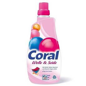 Coral гель для стирки деликатных тканей 20 стирок (1,5л)