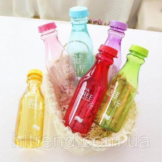 Фітнес пляшка BPA Free (глянець)