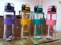 Бутылка пластмассовая для воды Sports 450 мл