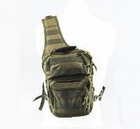 Милтек рюкзак через плечо малый олива
