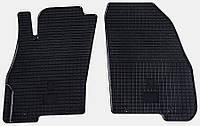 Коврики в салон Fiat Punto Evo 09 (Фиат Пунто Ево) (2 шт) передние, Stingray
