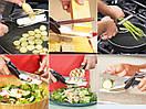 Умный кухонный нож-ножницы для зелени и овощей Clever Cutter 3 в 1,, фото 4