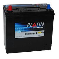 Автомобильный аккумулятор PLATIN Premium JP 6CT- 45Aз 400A L SMF(тонкая+адаптор)