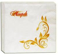 Салфетки бумажные Alsupak 20 шт белая 2-х слойная 33 * 33