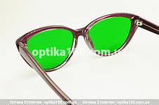 Глаукомные очки (зеленые стеклянные линзы). Женские, фото 3