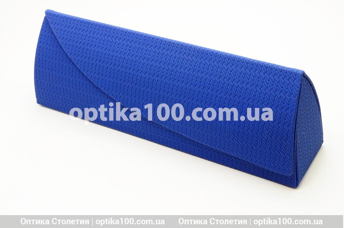 Сине-красный футляр чехол для очков на магните