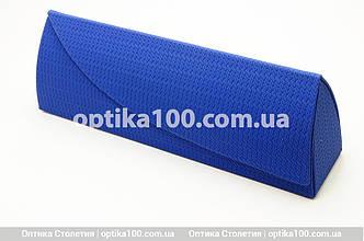 Сине-красный футляр чехол для очков на магните, фото 2