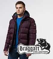 Мужская куртка зима Braggart 26055 бордовый