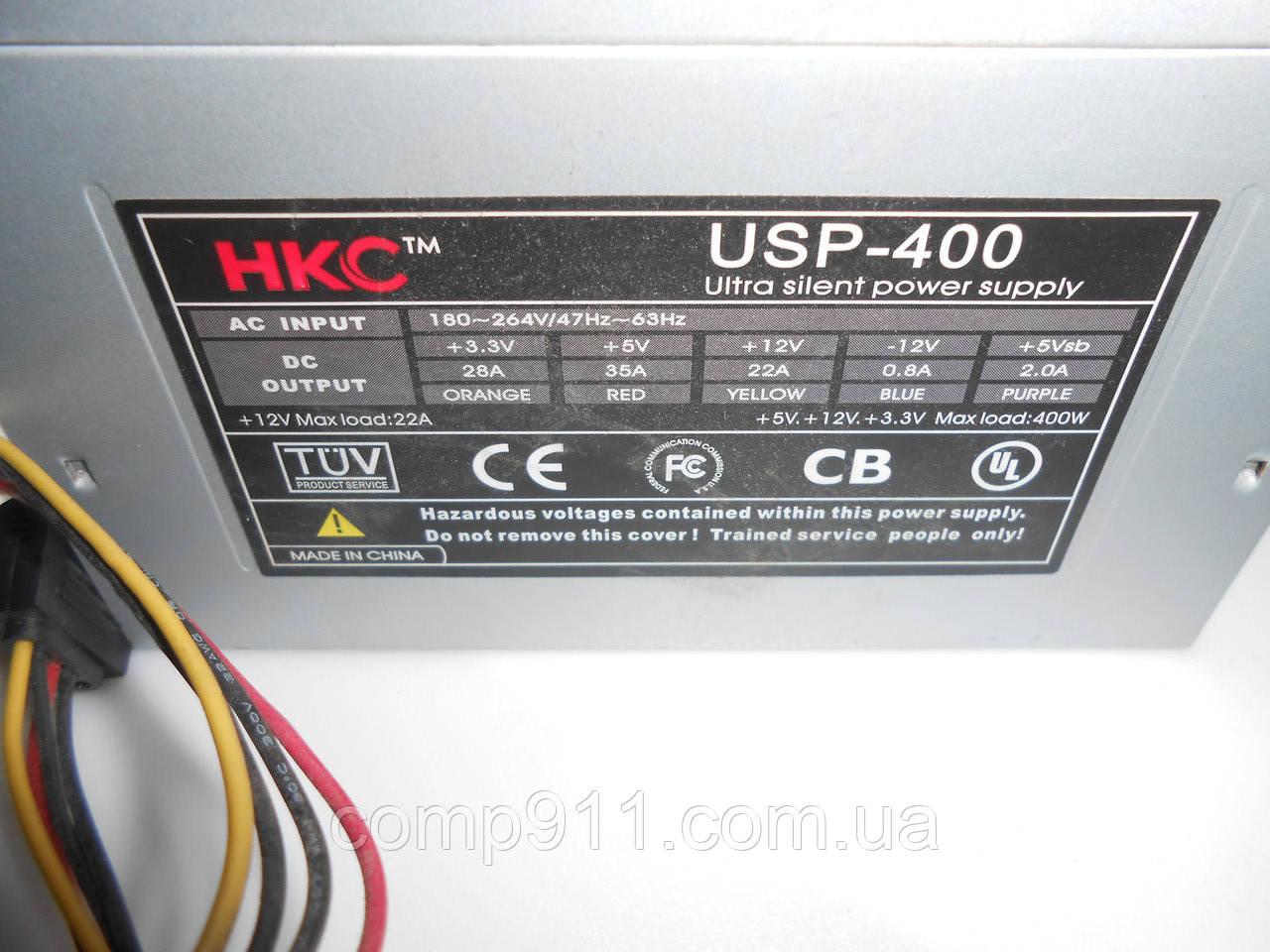 Блок живлення HKC USP-400 400w