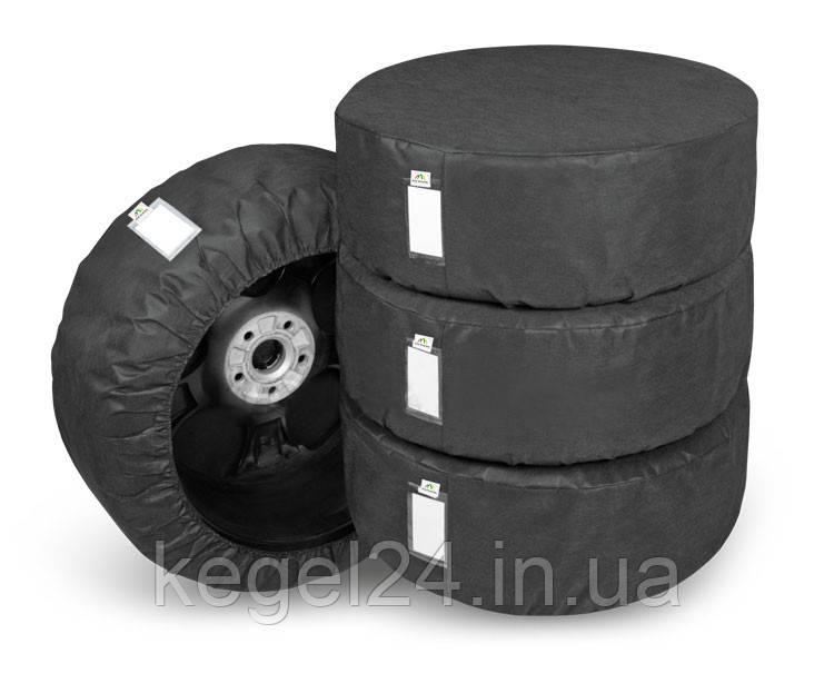 """Набір з 4 чохлів для шин і коліс «4 x Season» розмір XL 17-20"""""""