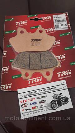 Мото колодки TRW LUCAS MCB799SH задние для мотоцикла Harley Davidson (специальная задняя синтетика), фото 2