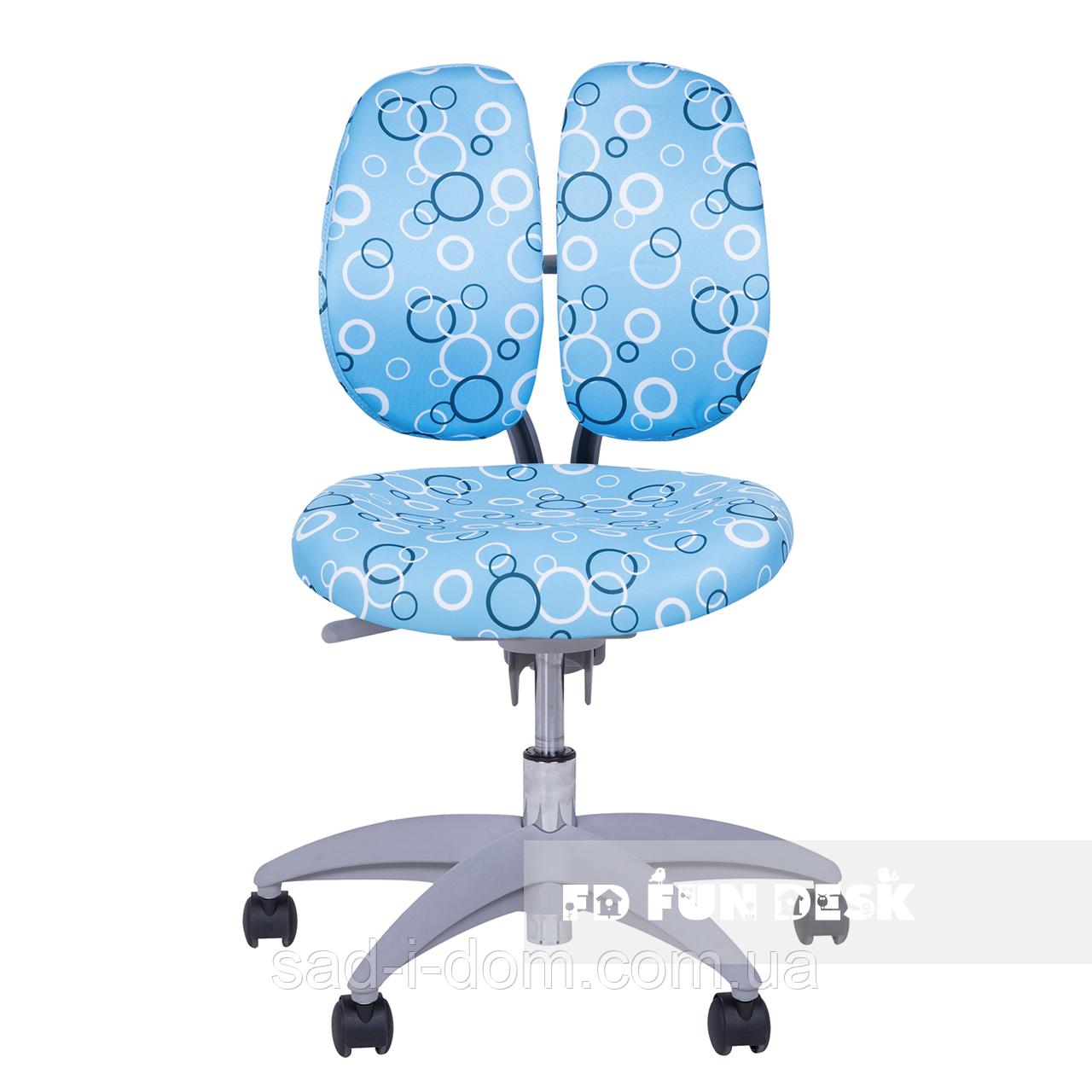 Детское ортопедическое компьютерное кресло FunDesk SST9, голубой
