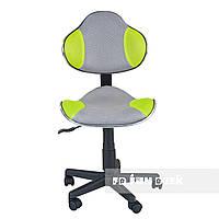 Детское компьютерное кресло FunDesk LST3, серо-зеленое, фото 1