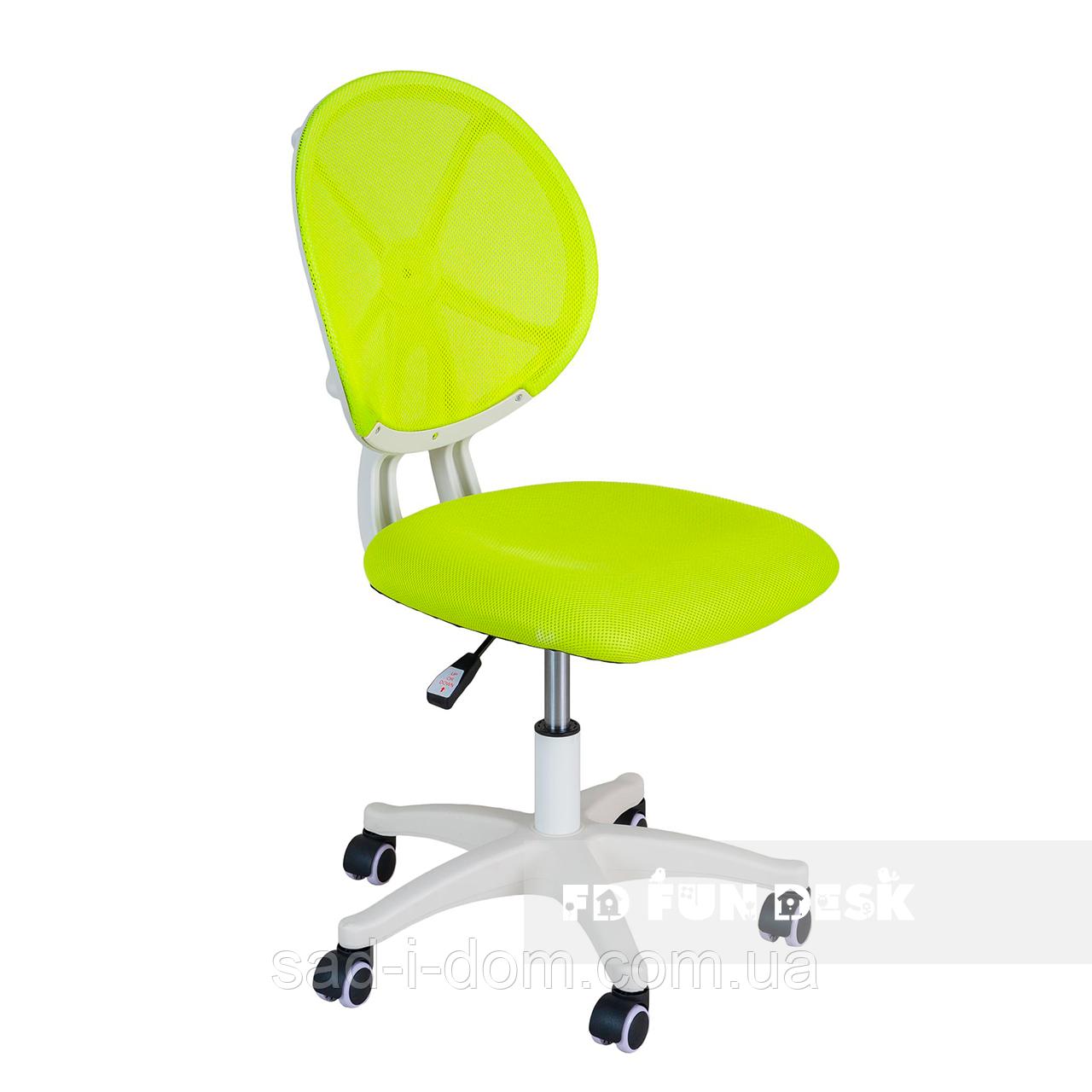 Детское ортопедическое кресло для школьника FunDesk LST1, зеленое