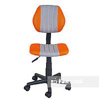 Детское компьютерное ортопедическое кресло FunDesk LST4 серо-оранжевое, фото 1