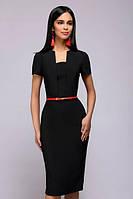 Классическое платье с оригинальным вырезом  PR38, фото 1
