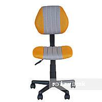 Детское ортопедическое кресло для школьника FunDesk LST4 серо-желтое, фото 1