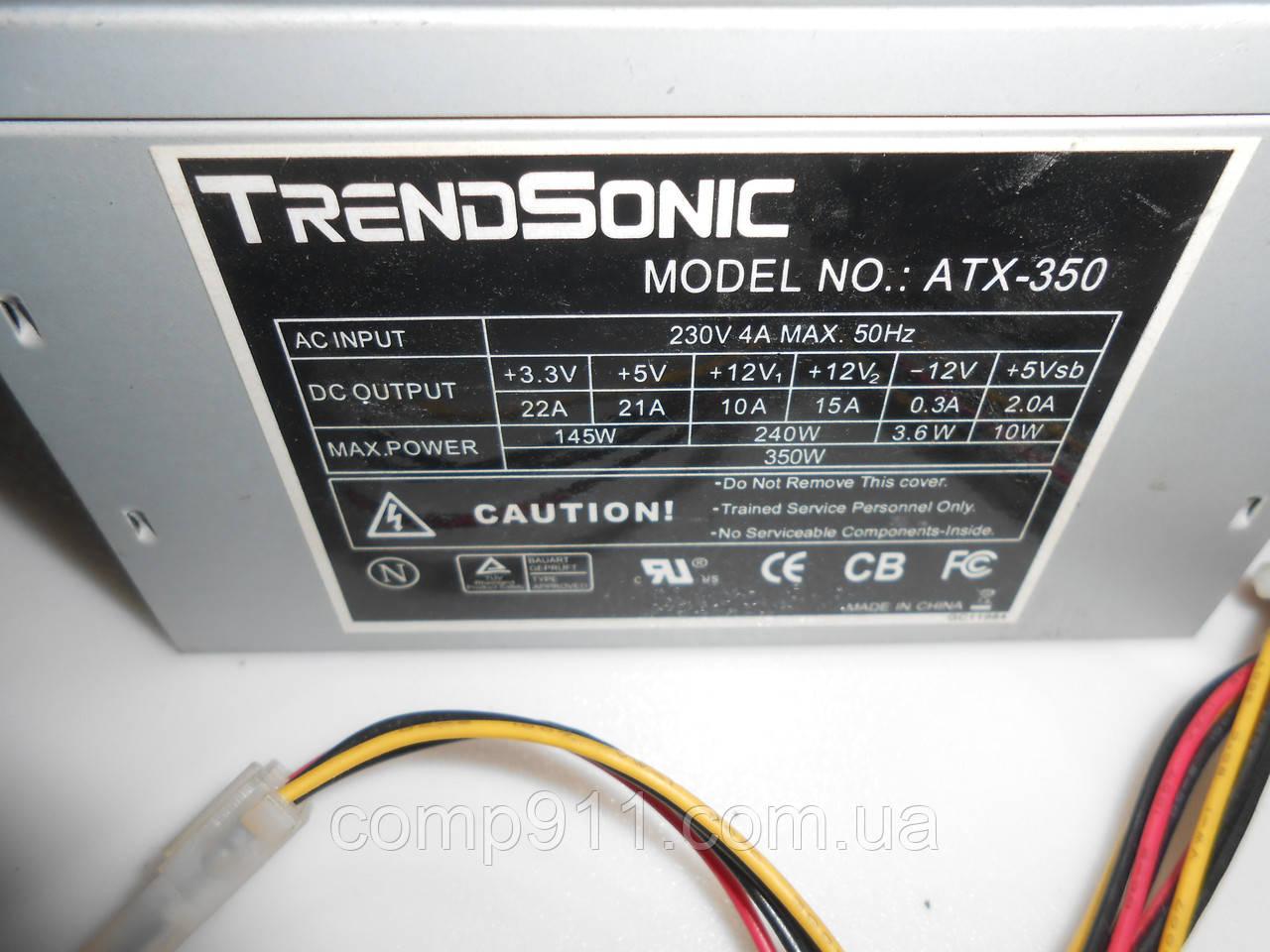 Блок питания TrendSinic ATX-350 350w