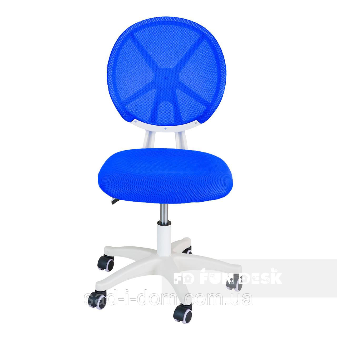 Детское компьютерное ортопедическое кресло FunDesk LST1, голубое
