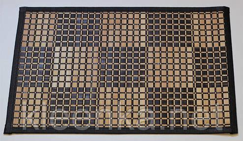 Подложка-салфетка, сет на стол бамбук 30см*45см, серветка-підставка під гарячий посуд, фото 2