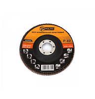 Диск шлифовальный лепестковый 125х22мм Polax К80