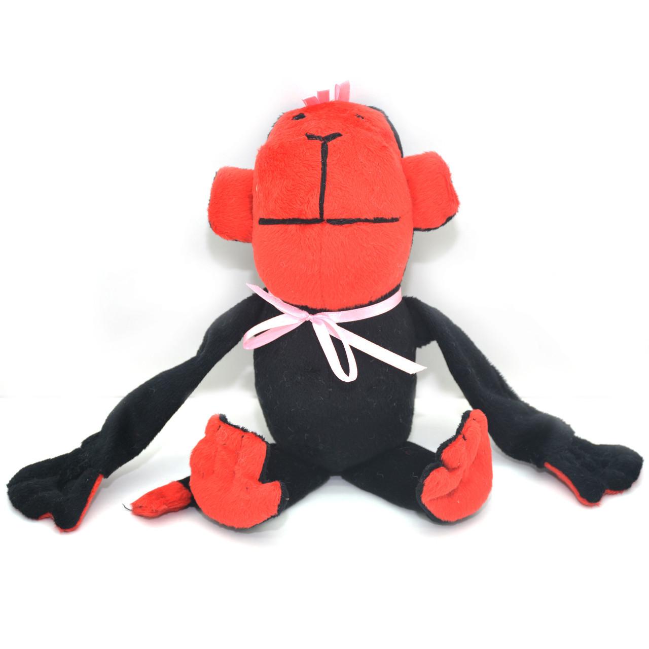 Мягкая игрушка для собак ОБЕЗЬЯНКА черная