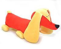 Мягкая игрушка Такса для собак красная