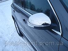 Хром накладки на зеркала (нерж) Skoda yeti (шкода йети 2009+)