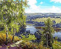 Картина по номерам Дорога к реке (VP959) 40 х 50 см DIY Babylon