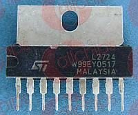 Операционный усилитель двойной STM L2724 SIP9
