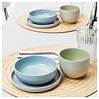 Набор посуды IKEA MORGONTE 3 шт разноцветный 503.982.67, фото 3