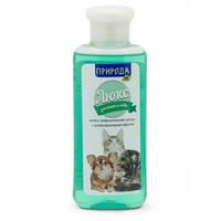 Природа Люкс Шампунь лечебно-профилактический с противопаразитарным эффектом, для собак и кошек 240 мл