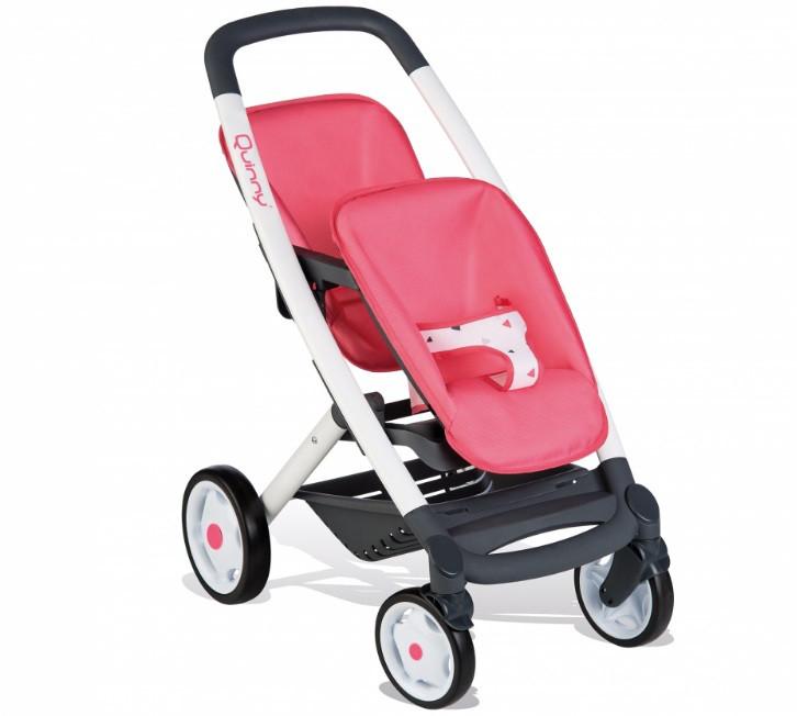 Лялькова коляска Smoby для двійні,близнюків Quinny Maxi Cosi 253298