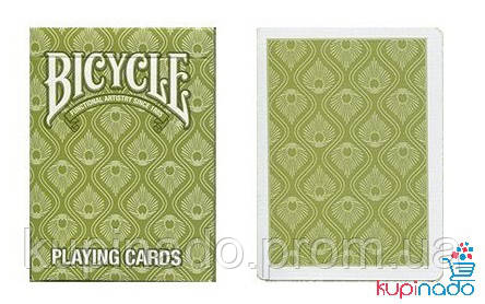 Карты Bicycle Peacock Green